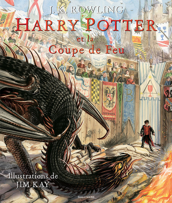Harry Potter et la Coupe de Feu illustré